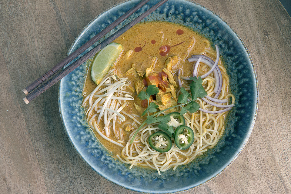 Chicken Khao Soi: Soup for the Soul | THE ROAD TO HONEY