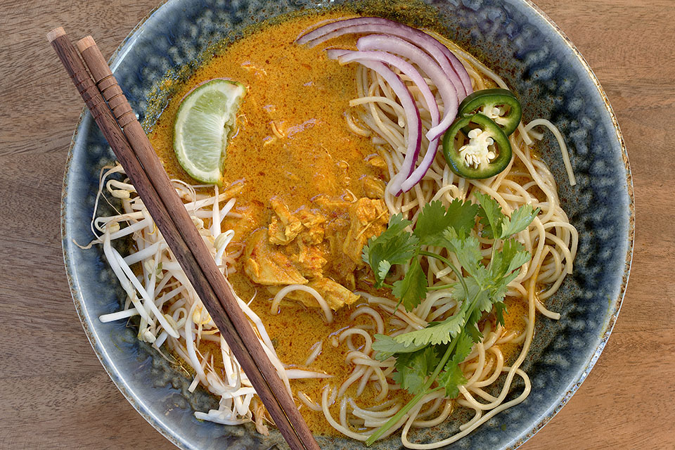 Chicken Khao Soi Recipe — Dishmaps