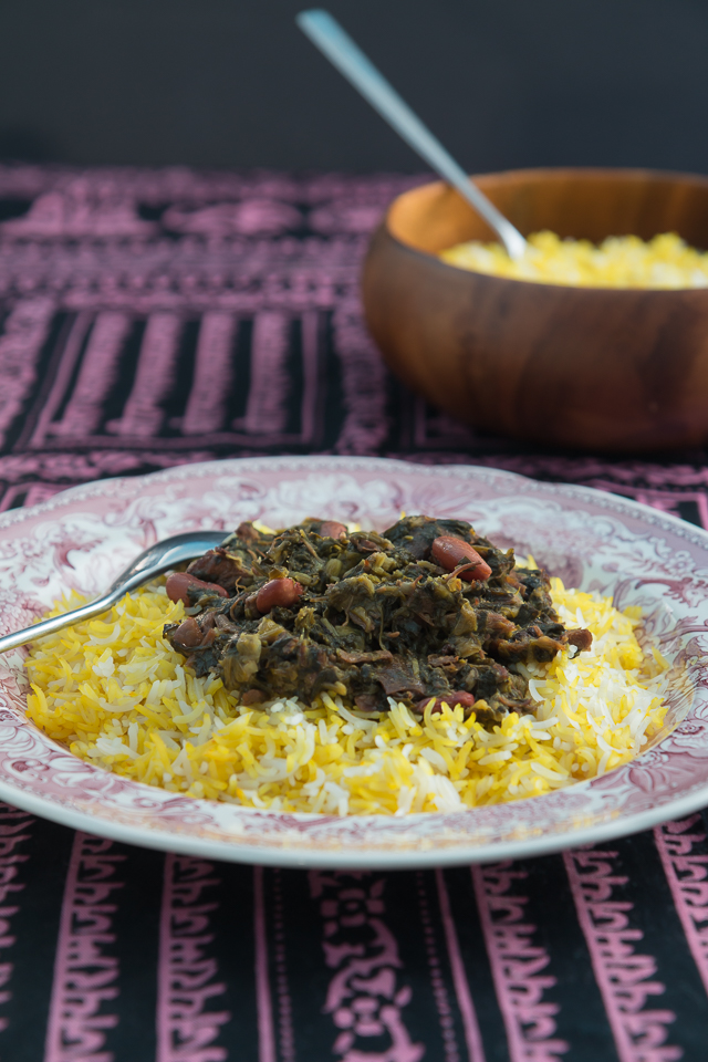 Recipe for Gormeh Sabzi a Persian favorite
