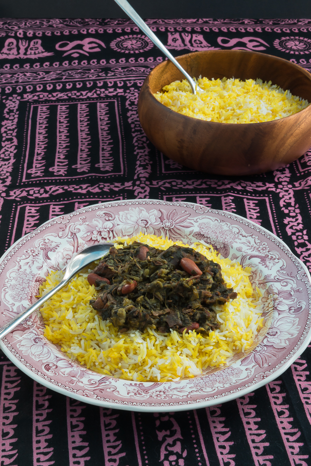 Gormeh Sabzi Recipe, Persian cooking