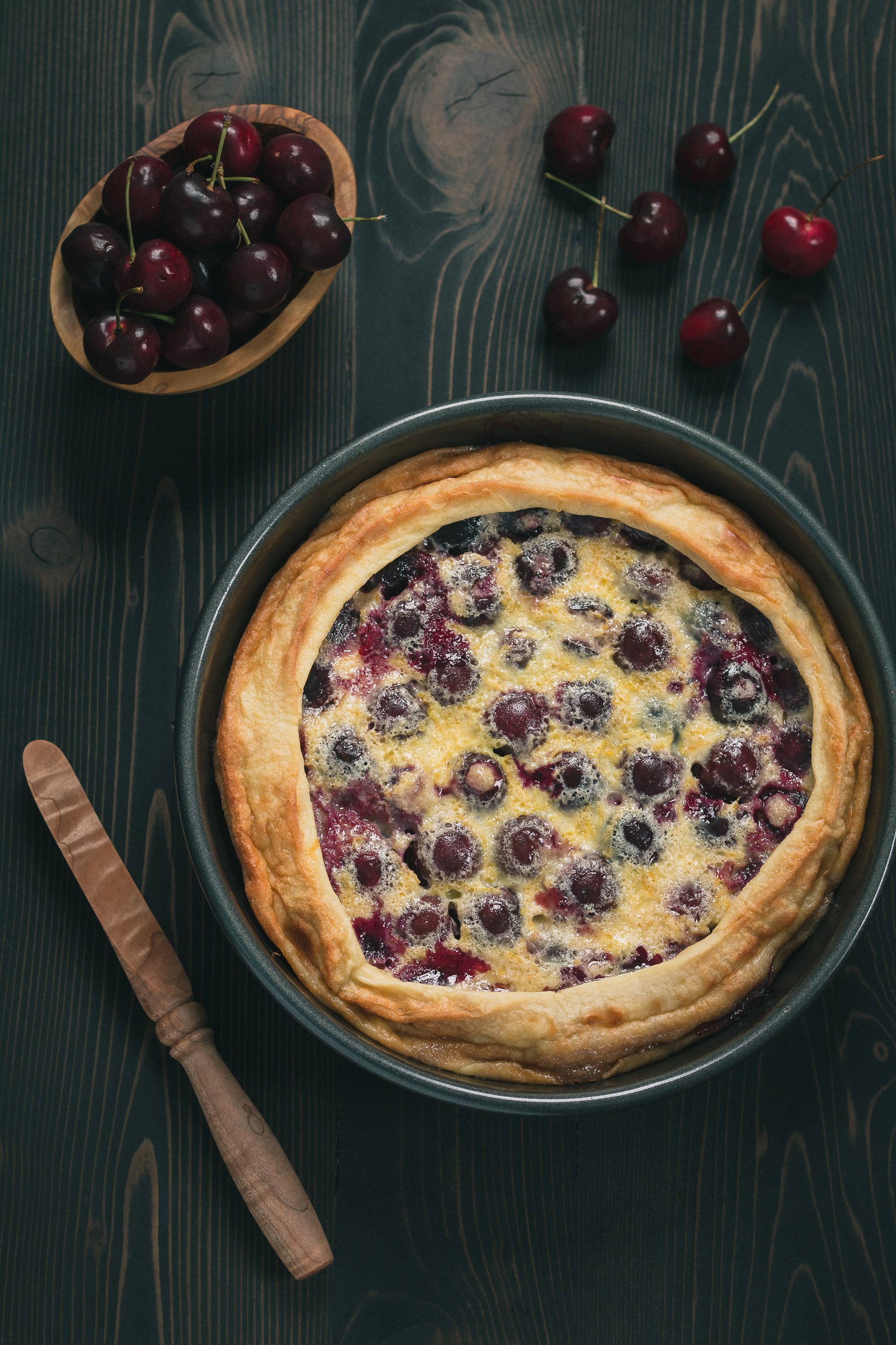 Cherry Clafoutis & A Move Gone Wrong | THE ROAD TO HONEY