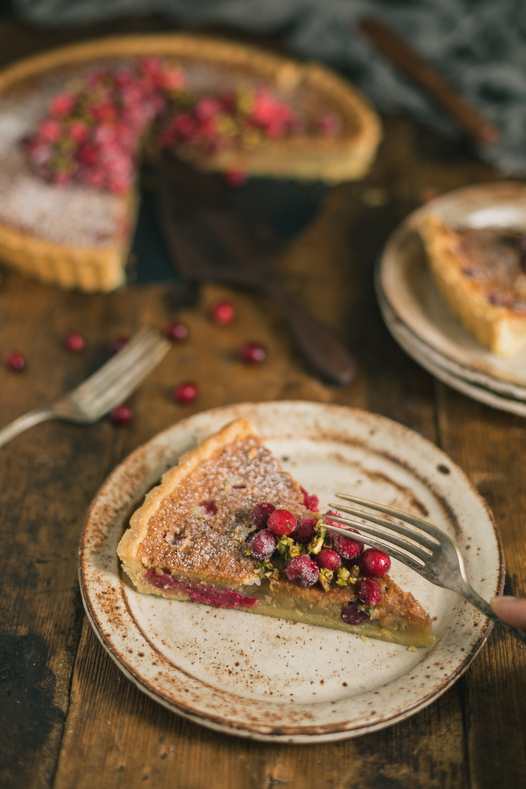 Cranberry Almond Cake Recipe