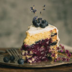 Lavender Blueberry Cake with Vanilla Bean Cream Cheese Frosting - From the silky blueberry curd to the tangy blueberry and raspberry sauce, this Lavender Blueberry Cake is loaded with fresh blueberries, then topped with a lusciously sweet cream cheese frosting. It's the perfect ending for all your sunshine-y summer days. Click for recipe.