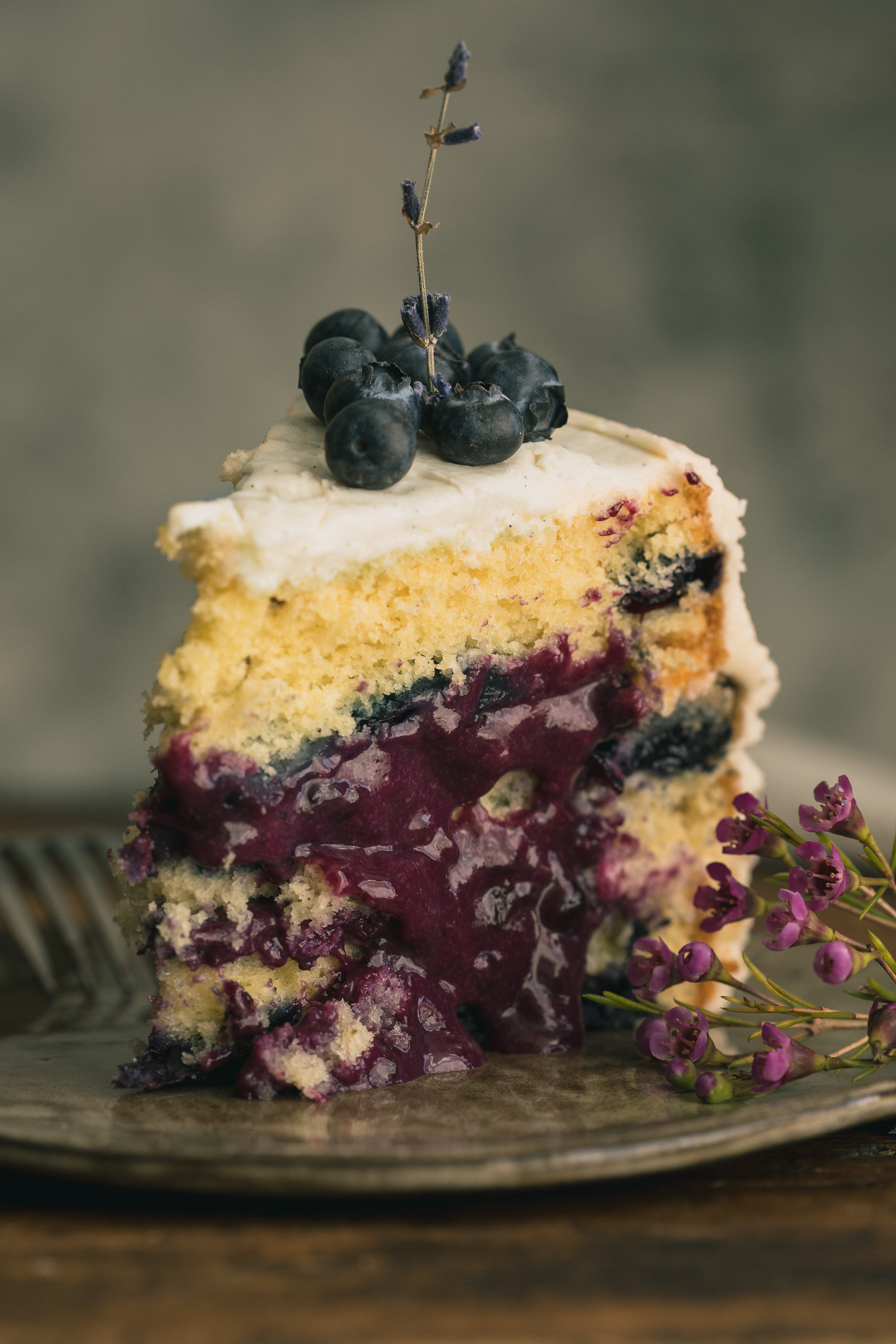 blueberry cake filling lavender blueberry cake with cheese frosting the 1968